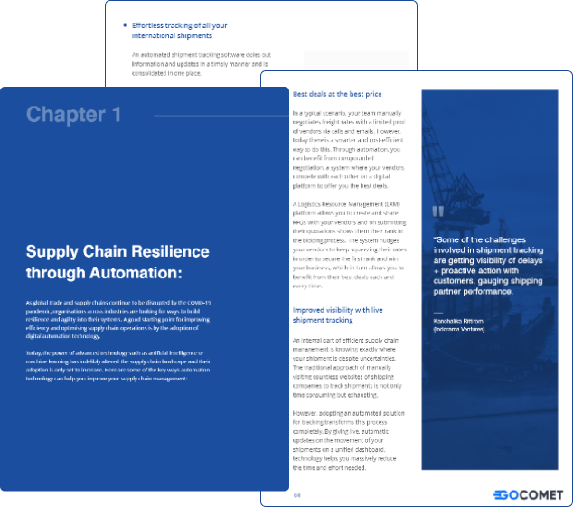 Supply Chain Resilience: 2020 and Beyond.